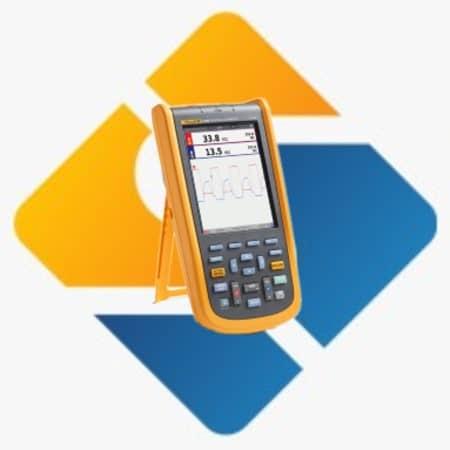 Fluke 123B Portable Digital ScopeMeter-Oscilloscope
