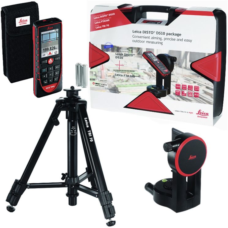 Leica Disto D510 Touch Pro Pack / Case Package
