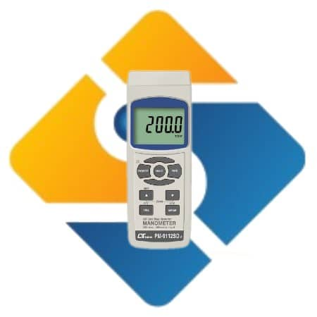 Lutron PM-9112SD Manometer 200 mbar
