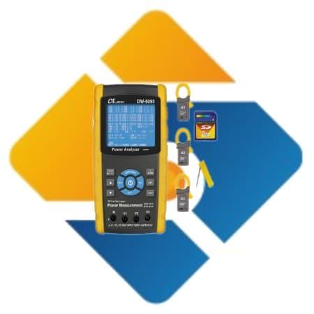 Lutron DW-6092 3 Phase Power Analyzer