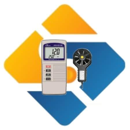 Lutron AM-4210E Digital Anemometer