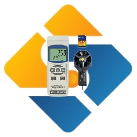 Lutron AM-4207SD Anemometer with Data Logger