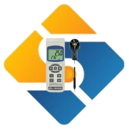 Lutron AM-4237SD Anemometer-Humidity Meter