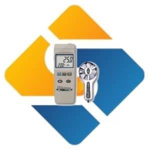 Lutron YK-80AM Metal Vane Anemometer