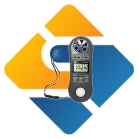 Lutron LM-8010 Digital Anemometer Meter 4 in 1