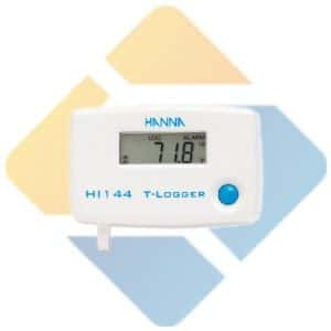 Hanna HI144 Temperature T-Logger with Locking Wall Cradle