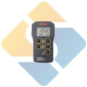 Hanna HI935002 Dual Channel K-Type Thermocouple Thermometer