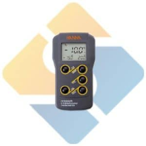 Hanna HI93532R Dual Input K-Type Thermocouple Thermometer