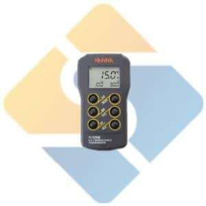 Hanna HI 93542 Dual Channel K, J, T-Type Thermocouple Thermometer