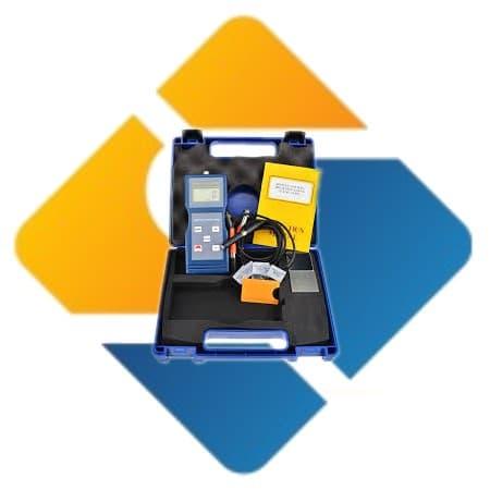 Landtek CM-8822 Digital Paint Coating Portable Thickness Meter F NF probes