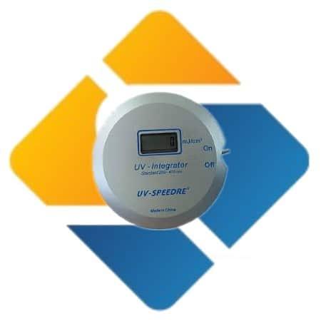 UV Integrator Energy Detector Joule Meter 250-410nm