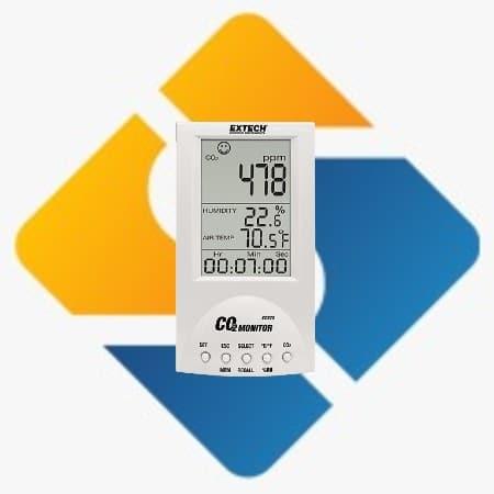 Extech CO220 Desktop Indoor Air Quality CO2
