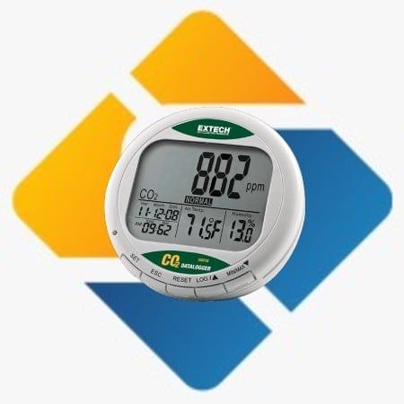 Extech CO210 Desktop Indoor Air Quality CO2