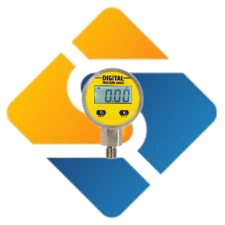0-25 Mpa 250 bar NPT 1/4″ 3V Digital Oil Pressure Hydraulic Gauge