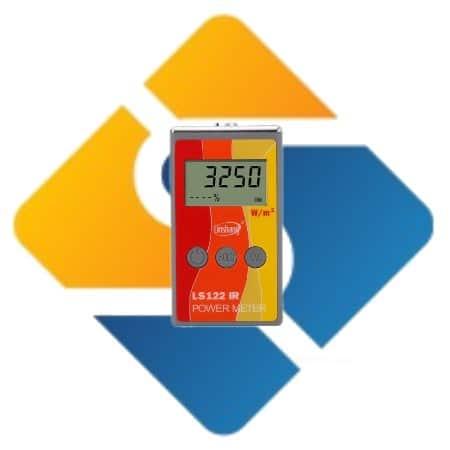 LS122 Handheld IR Power Meter test Infrared intensity luminance