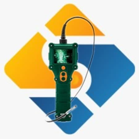 Extech BR300 Waterproof Video Borescope Inspection Camera