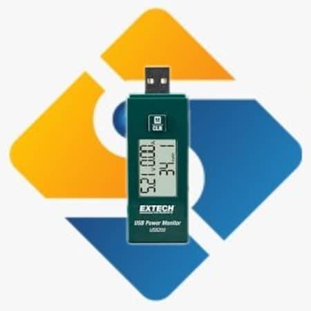 Extech USB200 USB Power Monitor