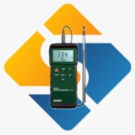 Extech 407123 Heavy Duty Hot Wire Thermo-Anemometer
