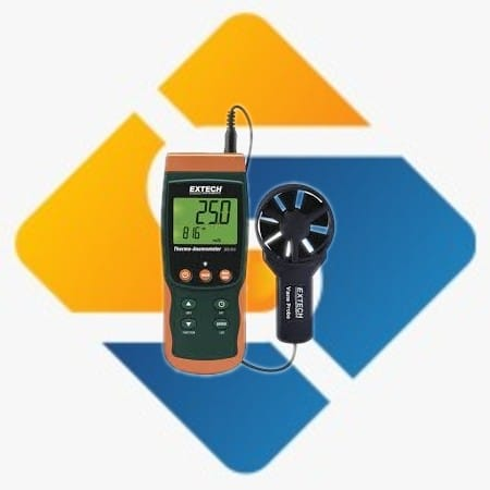 Extech SDL310 Thermo-Anemometer/Datalogger