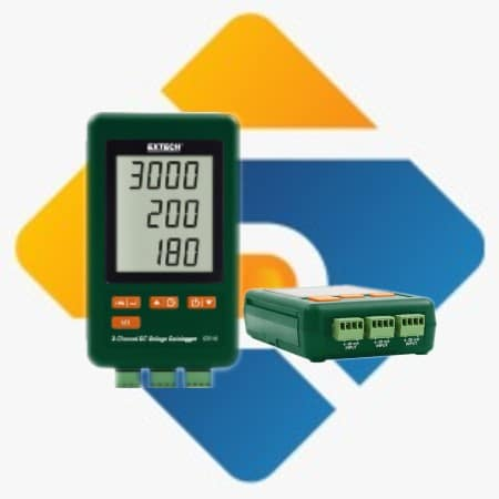 Extech SD910 3 Channel DC Voltage datalogger