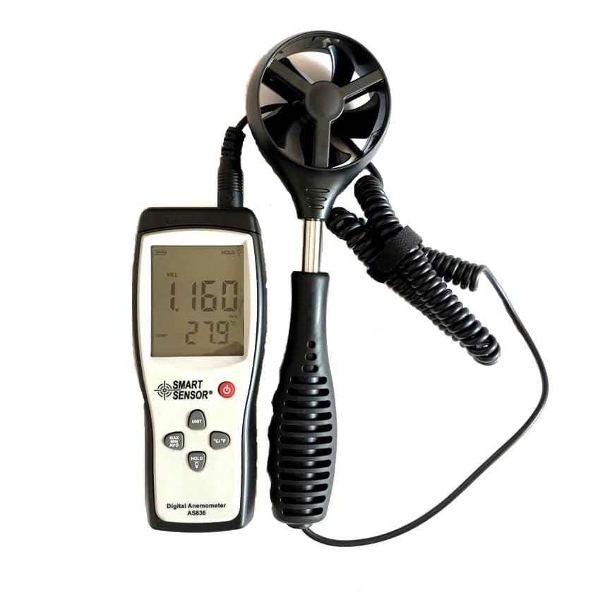 Smart Sensor AS836 Anemometer