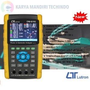 Lutron DW-6195 3 Phase Power Analyzer