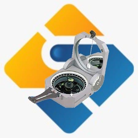 Brunton 5006 Pocket Transit Compass Geologi