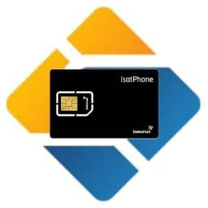 Inmarsat Kartu Perdana Prepaid Simcard Isatphone Pulsa 250 units