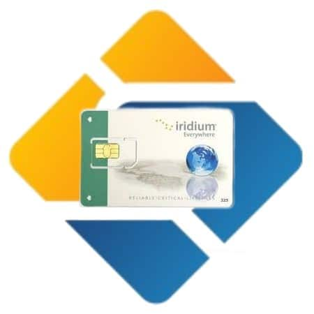 Iridium Kartu Perdana Simcard Prepaid 75 Menit