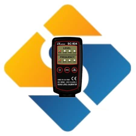 Lutron SC-934 Multi Frequency Sound Level Calibrator
