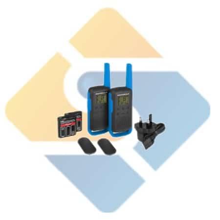 Motorola TLKR T62 Walkie Talkie Twin Pack