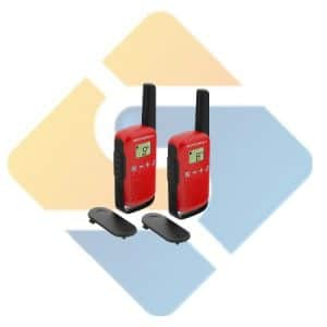 Motorola Talkabout T42 Walkie Talkie Twin Pack