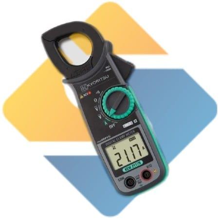 Kyoritsu KEW 2117R AC Digital Clamp Meters