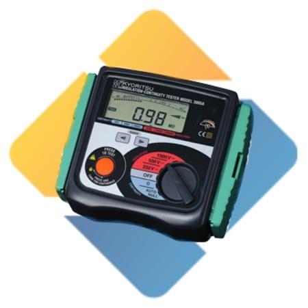Kyoritsu MODEL 3005A Analogue Insulation / Continuity Tester