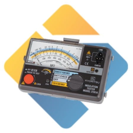 kyoritsu MODEL 3161A Analogue Insulation Tester