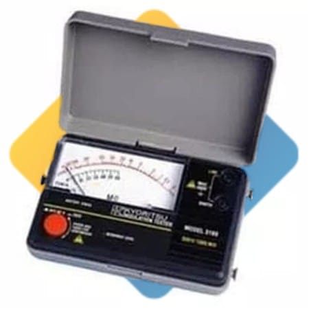 kyoritsu MODEL 3166 Analogue Insulation Tester