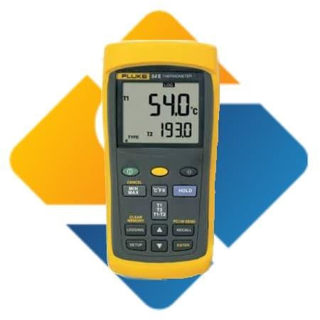 Fluke 54 II B Data Logging Thermometer with Dual Input