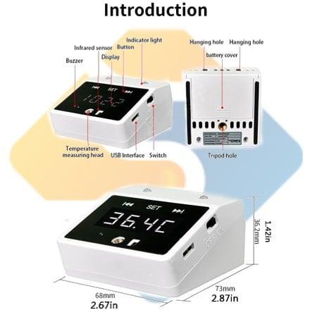 K2 Smart Mini Portable Infrared Thermometer