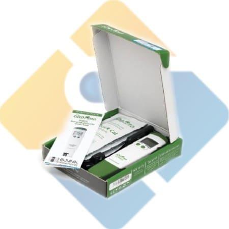Hanna HI98131 GroLine Hydroponic Waterproof Pocket pH/EC/TDS/Temperature Tester