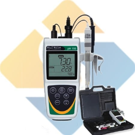 Eutech PH 150 Portable pH / mV / Temperature