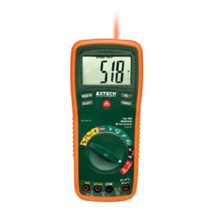 Extech EX470A 12 Function True RMS Professional MultiMeter + InfraRed Thermometer